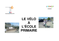 Le vélo à l'école primaire – Toulouse