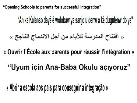 Ouvrir l'école aux parents pour la réussite des élèves